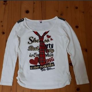 ピンクラテ(PINK-latte)のピンクラテ 長袖Tシャツ Mサイズ(カットソー(長袖/七分))