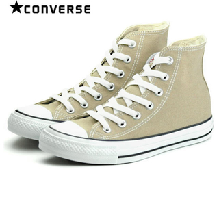 コンバース(CONVERSE)の新品 22.5 CONVERSE ALL STAR  HI BEIGE(スニーカー)