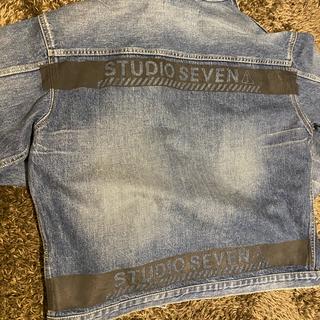 サンダイメジェイソウルブラザーズ(三代目 J Soul Brothers)のstudio seven jacket ジャケッNAOTO EXILE 3JSB(Gジャン/デニムジャケット)