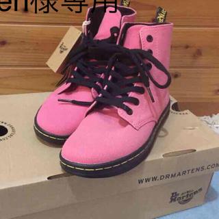 ドクターマーチン(Dr.Martens)の新品 ドクターマーチン ピンク 約23(ブーツ)