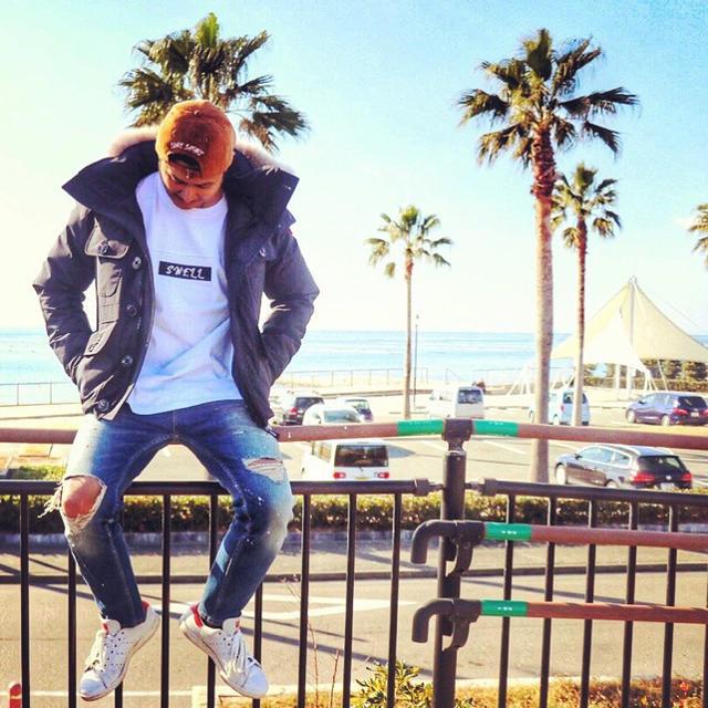 STANDARD CALIFORNIA(スタンダードカリフォルニア)のサーファーコーデ☆LUSSO SURF 刺繍スウェード刺繍キャップ☆帽子  メンズの帽子(キャップ)の商品写真