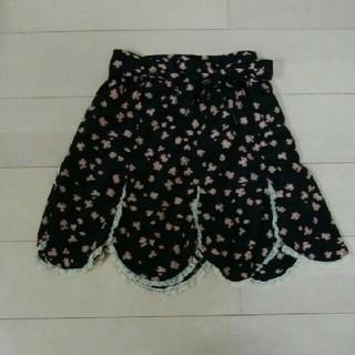 THE EMPORIUM - ガーリー黒ミニスカート