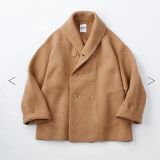 フォーティファイブアール(45R)の45rpm❣️今冬‼️縮絨ニットのPラップジャケット 74,800円(ピーコート)