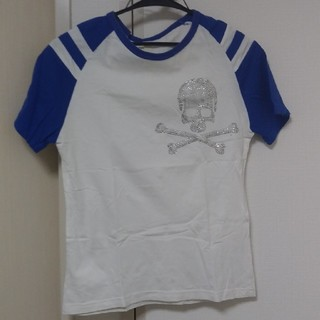 Random スカル ラグランTシャツ