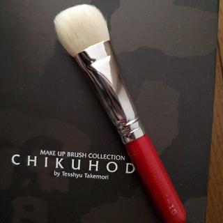 竹宝堂 熊野筆 ファンデーションブラシ G-10 お箱はなしの発送です(ブラシ・チップ)