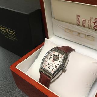 エポス(EPOS)のepos エポス 自動巻 トノー型(腕時計(アナログ))