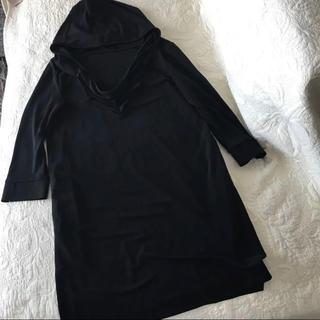 フォクシー(FOXEY)のフォクシー 38サイズ ブラック チュニック 美品(チュニック)