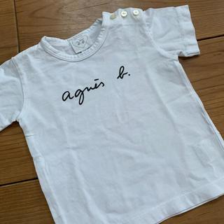 アニエスベー(agnes b.)のアニエスベー ロゴTシャツ agnes b. 親子 おそろ 1歳 70 80(Tシャツ)