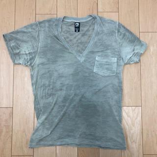 オルタナティブ(ALTERNATIVE)のオルタネイティブ VネックTシャツ(Tシャツ/カットソー(半袖/袖なし))