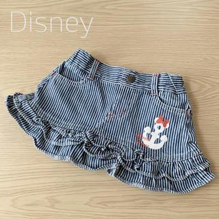 ディズニー(Disney)のDisney ヒッコリーミニスカート サイズ80(スカート)