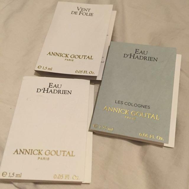 Annick Goutal(アニックグタール)のアニックグダール♡サンプルセット コスメ/美容の香水(ユニセックス)の商品写真
