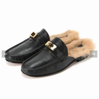 アパルトモンドゥーズィエムクラス(L'Appartement DEUXIEME CLASSE)のL'Appartement CAMINANDO ファーツキローファー (ローファー/革靴)