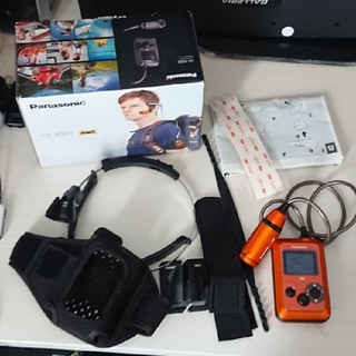 Panasonic - HX-A500 マウント付き