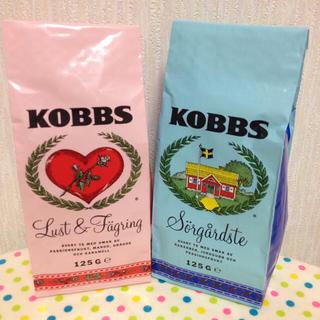 北欧スウェーデンKOBBS紅茶セット(茶)
