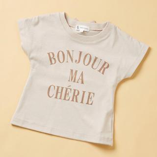 ロペピクニック(Rope' Picnic)のバックリボンプリントTシャツ(Tシャツ/カットソー)