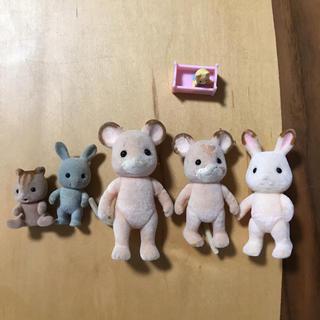 エポック(EPOCH)のシルバニアファミリー☆お人形6体セット(ぬいぐるみ)
