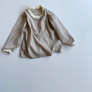 line long tee ロンT トップス 韓国子供服(Tシャツ)