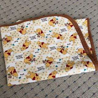 クマノプーサン(くまのプーさん)のおねしょシーツ プーさん 70×112(シーツ/カバー)