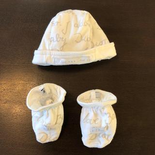 ベビーディオール(baby Dior)のbaby Dior  ベイビーディオール 帽子 靴下(帽子)
