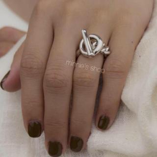トゥデイフル(TODAYFUL)のチェーン デザインリング シルバー(リング(指輪))
