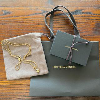 ボッテガヴェネタ(Bottega Veneta)のボッテガヴェネタ  スターリングシルバーネックレス(ネックレス)