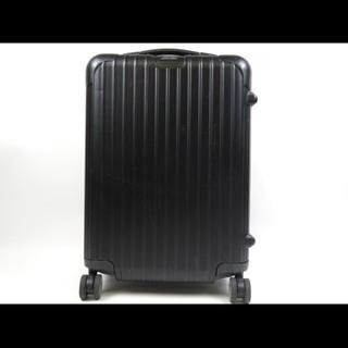 リモワ(RIMOWA)の美品 リモワRIMOWA キャリーケース 機内持ち込み32L ブラック(トラベルバッグ/スーツケース)