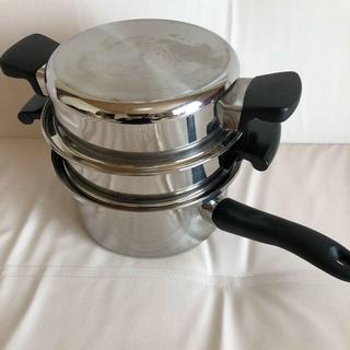 アムウェイ(Amway)のアムウェイ蒸し器、大ソースパン(蓋なし)(調理機器)