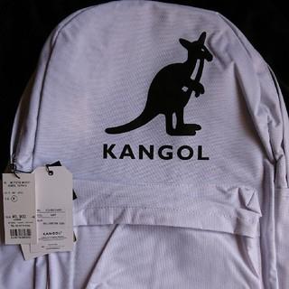カンゴール(KANGOL)のKANGOL リュックサック 白(バッグパック/リュック)