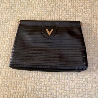 ヴァレンティノ(VALENTINO)の値下げ❗️バレンチノ クラッチバッグ 黒(クラッチバッグ)