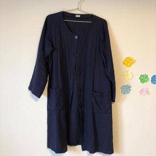 fabric's リネンコート(ロングコート)