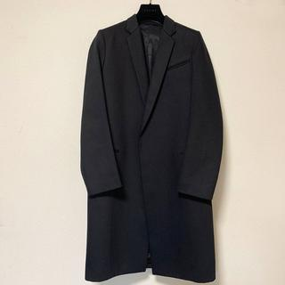 セリーヌ(celine)の新品 セリーヌ celine クロンビー コート ブラック 綿100% 38(チェスターコート)
