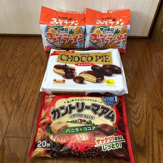 サッポロ(サッポロ)のお菓子&みそラーメンセット(インスタント食品)