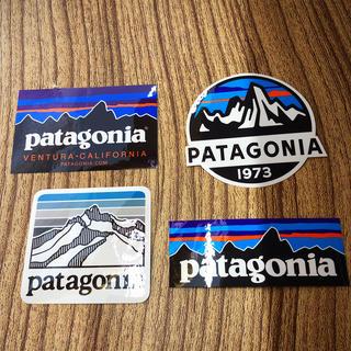 パタゴニア(patagonia)のパタゴニアステッカー×4(ステッカー)