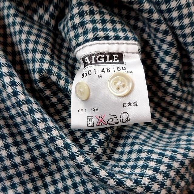 AIGLE(エーグル)の【美品】AIGLE シャツ メンズのトップス(シャツ)の商品写真