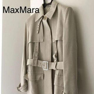 Max Mara -   マックスマーラ トレンチコート ロングコート MaxMara