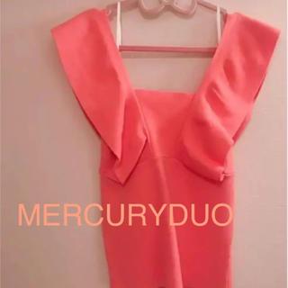 MERCURYDUO - MERCURYDUO ラッフル コンパクト ニット