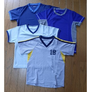 GU - プラシャツ 130cm 4枚セット 【34】