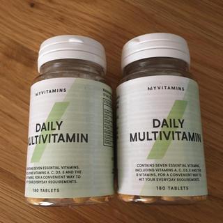 マイプロテイン(MYPROTEIN)のデイリー マルチビタミン 180錠 2本セット マイプロテイン (ビタミン)