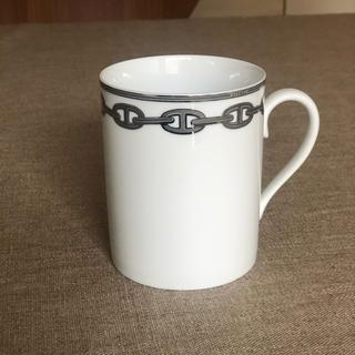エルメス(Hermes)のエルメス  シェーヌダンクルシルバー マグカップ1個(マグカップ)