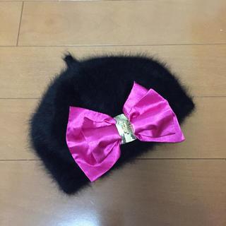 マーズ(MA*RS)のマーズ リボン ベレー帽(ハンチング/ベレー帽)