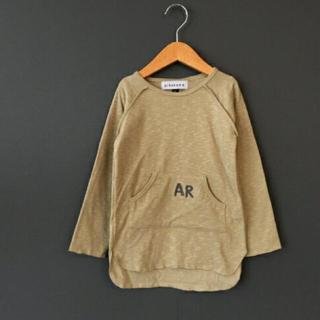 コドモビームス(こども ビームス)の【新品】arkakama カットソー 2-3y Sサイズ(Tシャツ/カットソー)
