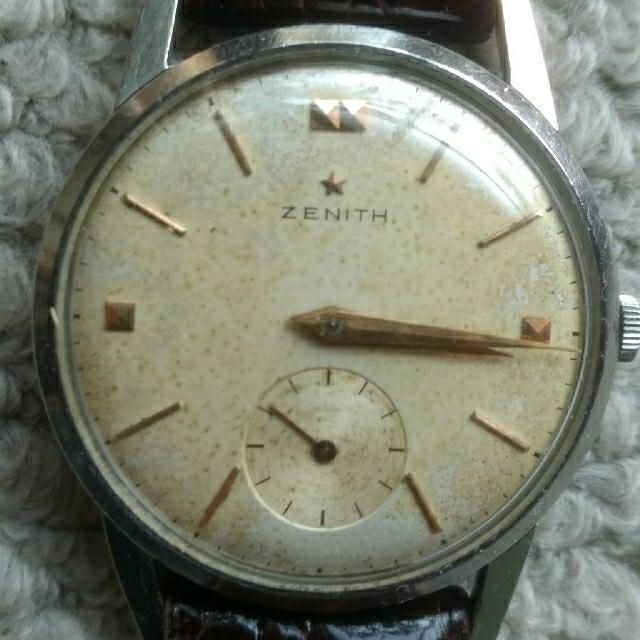 ロレックス スーパー コピー 時計 本社 、 ZENITH - ZENITH 手巻Cal.126-6 スモセコ 1950年代 稼働トリプルサインの通販