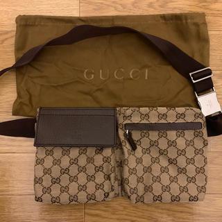 Gucci - GUCCI グッチ ウエストポーチ  本物 ボディバッグ ルイヴィトン コーチ