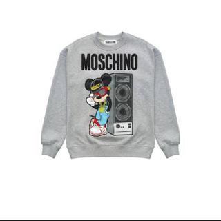 モスキーノ(MOSCHINO)のMOSCHINO H&M ディズニー コラボスウェット(トレーナー/スウェット)