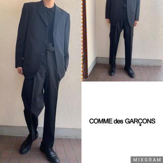 コムデギャルソン(COMME des GARCONS)の美品 comme des garcons homme セットアップ ダークグレー(セットアップ)