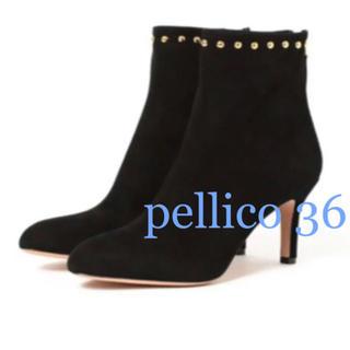 PELLICO - pellico  ペリーコ /  ブーツ スタッズ ブラック 36
