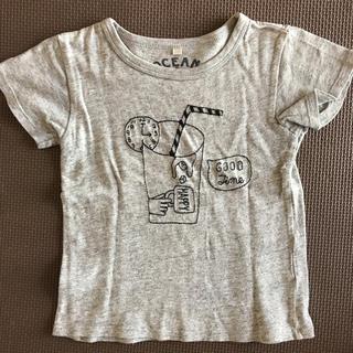 マーキーズ(MARKEY'S)の刺繍Tシャツ100 オーシャンアンドグラウンドOCEAN&GROUND(Tシャツ/カットソー)