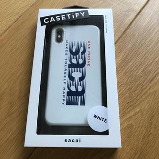 サカイ(sacai)のゴトゥーさま専用【新品未使用】sacai iPhoneケース(iPhoneケース)