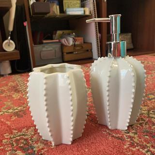 ザラホーム(ZARA HOME)のZARA HOME ソープボトル 花瓶 歯ブラシたて(花瓶)
