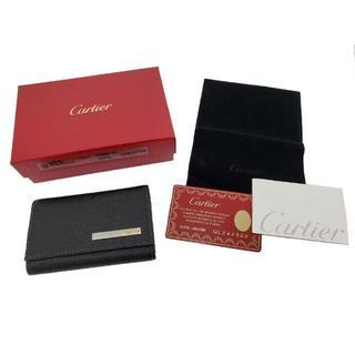 カルティエ(Cartier)の未使用品!Cartier【カルティエ】サントス レザー 6連 キーケース(キーケース)